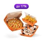 2 пиццы и закуска