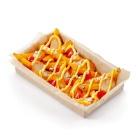 Картофель с цыпленком и сыром блю чиз