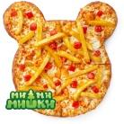 Пицца от Кеши с игрушкой из коллекции