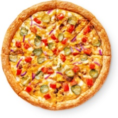 Чизбургер-пицца