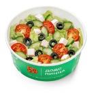 Греческий салат с соусом бальзамик
